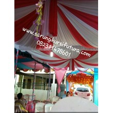 Decorasi plapon balon pesta murah