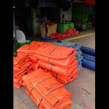 Produk plastik lainnya terpal tenda