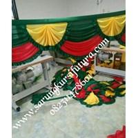 Rumbai poni tenda dekorasi pernikahan dan hadiah 1