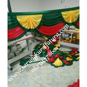 Rumbai poni tenda dekorasi pernikahan dan hadiah