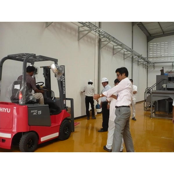 Forklift Nichiyu Electric