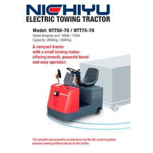 Supplier NICHIYU Electric TOWING TRACTOR