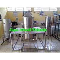 Jual Mesin Destilasi Boiler Minyak Asiri