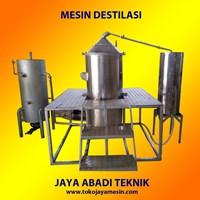 Mesin Destilasi Boiler Minyak Atsiri