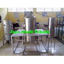 Mesin Destilasi Boiler Minyak Asiri