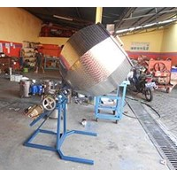 Mesin Pencampur Bumbu  Mixer Hexagonal 1
