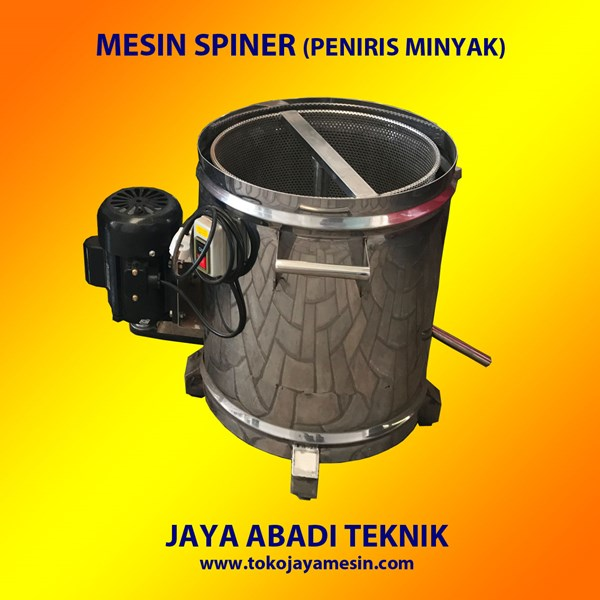 Mesin Peniris Minyak  Spiner Machine