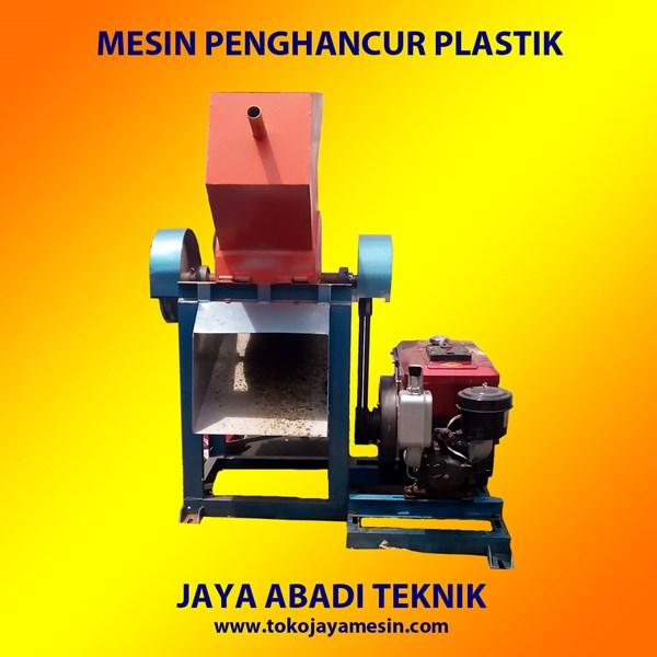Mesin Pencacah Plastik Alat Pengolahan Biji Plastik