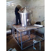 Jual Mesin Destilasi  Minyak Asiri  Alat Penyuling Minyak 2