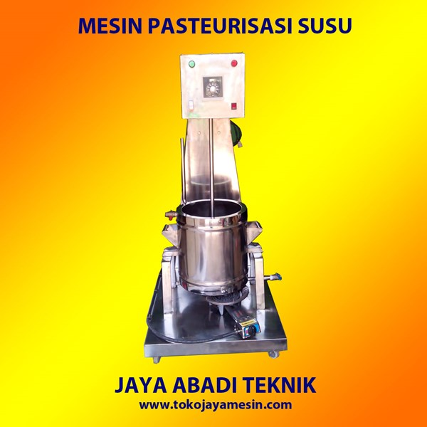 Mesin Pasteurisasi Susu