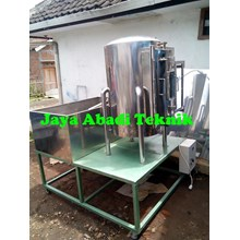 Mesin Vacuum Drying Kapasitas 4 Rak
