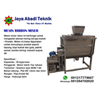 Mesin Mixer Ribbon / Mixer Powder 1