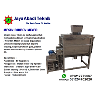 Jual Mesin Mixer Ribbon / Mixer Powder