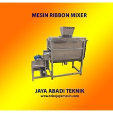 Jual Mesin Mixer Ribbon 100 Kg