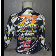 Baju Balap Motor Nomor 71