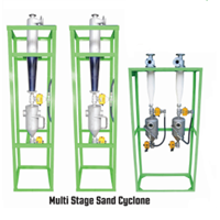 Mesin Multi Stage Sand Cyclone