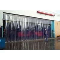 Menjual PVC Strip Curtain Clear ( Tirai Plastik ) Murah 5