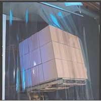 Distributor Menjual PVC Strip Curtain Clear ( Tirai Plastik ) 3