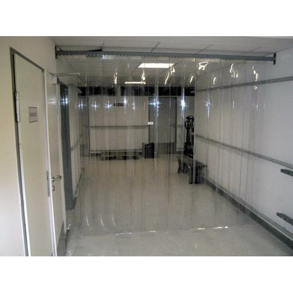 Menjual PVC Strip Curtain Clear ( Tirai Plastik )