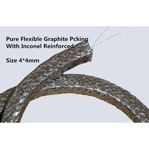 Dari Gland Packing Graphite Pure  Wire Inserted Expanded 2