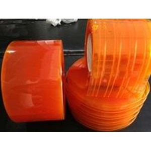 Dari PVC Strip Curtain Orange ( Tirai Plastik Oren ) 1