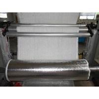 Jual Asbestos cloth coated with aluminum foil  2