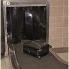 PVC Strip Curtain Opaque Black ( Tirai Plastik Hitam  ) 3