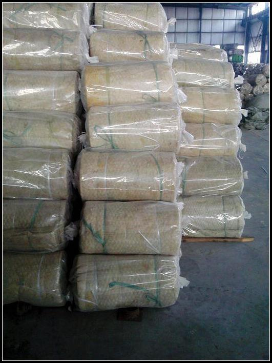 Jual rockwool blanket insulation with wire mesh harga for Rockwool blanket insulation