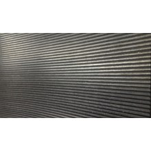 Fine Ribbed rubber mat