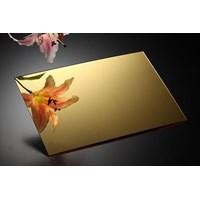 Acrylic Mirror Gold