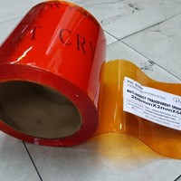 Jual PVC Curtain Anti Insect Orange ( Anti Serangga )