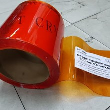 PVC Curtain Anti Insect Orange ( Anti Serangga )