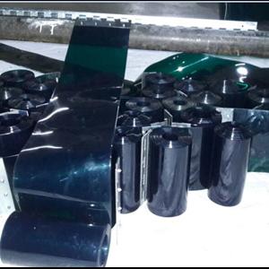 tirai Curtain hijau Gelap Terima Pemasangan