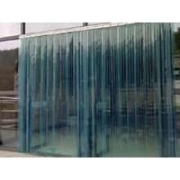 tirai plastik blue clear 3mmx30cm 1