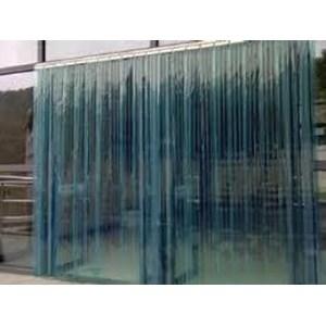 tirai plastik blue clear 3mmx30cm