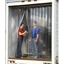 tirai plastik cold storage Tangerang telp 081325868706