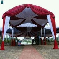 Plafon Dekor Balon Tenda Pesta