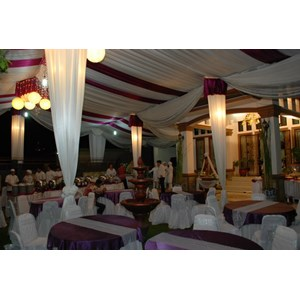 Tenda Pesta Plafon Rempel Tenda dekorasi wedding