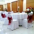 COVER MEJA BULAT KURNIA - Dekorasi Wedding 1