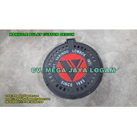 MANHOLE BULAT CUSTOME DESIGN bahan baja