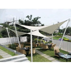 TENDA TENSION / TENSILE MEMBRANE By CV. Indosemeru Group.