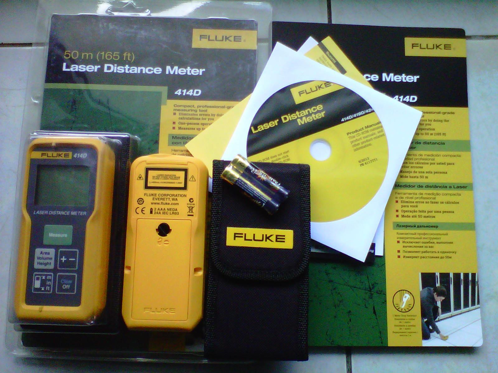 Jual Laser Meter Fluke 414d 085282731888 Harga Murah Kota Tangerang Earth Hi Tester Hioki 3151 Oleh Cv Buana Survey