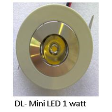 Downlight mini LED 1 watt