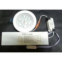 Lampu darurat dengan nicad baterai