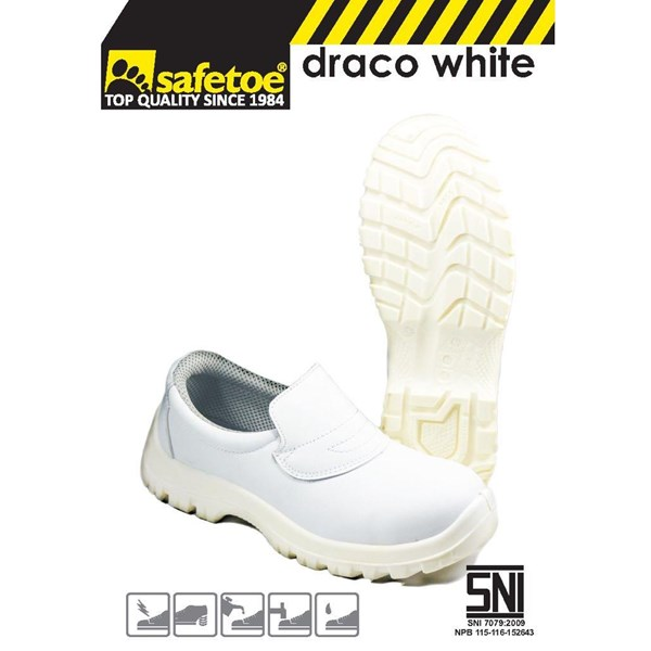 Safetoe Type Draco White