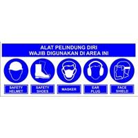Rambu lalu lintas Safety Sign APD