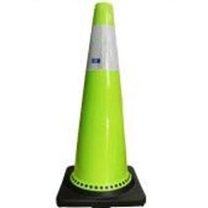 Rubber Cone Fluorescent Green