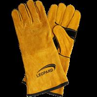 LEOPARD LEATHER WELDING GLOVES 14″ LPWG 0202