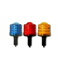 Solar Warning Light LED Cone