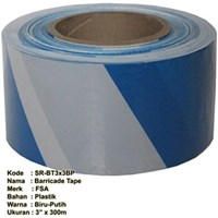 Barricade Tape - 3 Inch x 300m Blue (1000x1000)